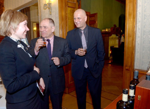 MV Latvija – viskija prezentācija