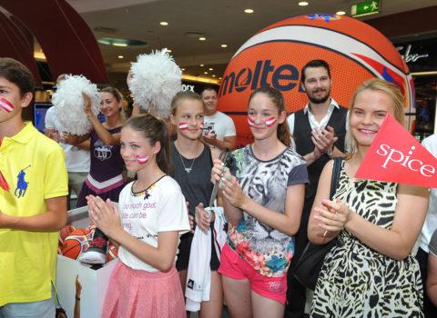 Latvijas Basketbola fanu zonas atklāšanas pasākums