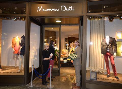 Massimo Duti pirmā veikala atklāšana Latvijā