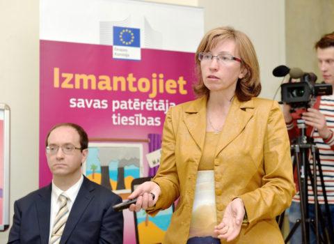 Patērētāju tiesību pasākums ES mājā